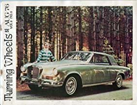 TURNING WHEELS Magazine August 1976 Vol. 8 No. 8 (The Studebaker Drivers Club, Official publication of the Studebaker Drivers Club,)