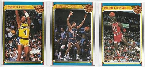 1988-99 Fleer Basketball Complete 12 Card All-Star Subset Jordan!