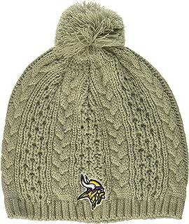 قبعة صغيرة حريمي من NFL مطبوع عليها OTS Valerie
