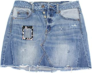 Women's Denim Mini Skirt W-30