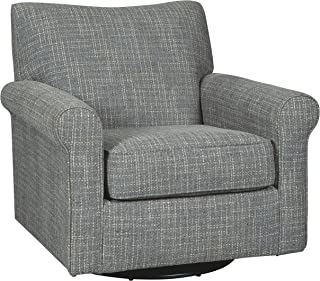 Signature Design by Ashley A3000002 Renley Swivel Glider Accent Chair, Ash