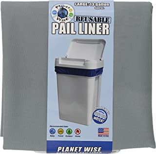Planet Wise Reusable Diaper Pail Liner,  Slate