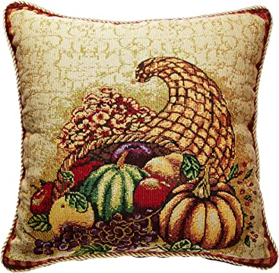 Amazon.com: Yunisu High-Grade Embroidery Pillow Double-Sided ...