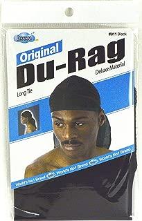 Dream Du-Rag Black (Pack of 6)