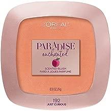 L'Oreal Paris Cosmetics Paradise Enchanted Fruit-Scented Blush Makeup, Just Curious, 0.31 Ounce