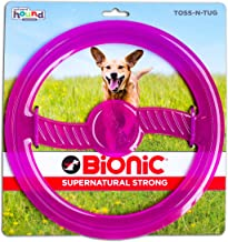 Bionic Toss N' Tug Durable Tough Medium Fetch and Chew Toy for Dogs