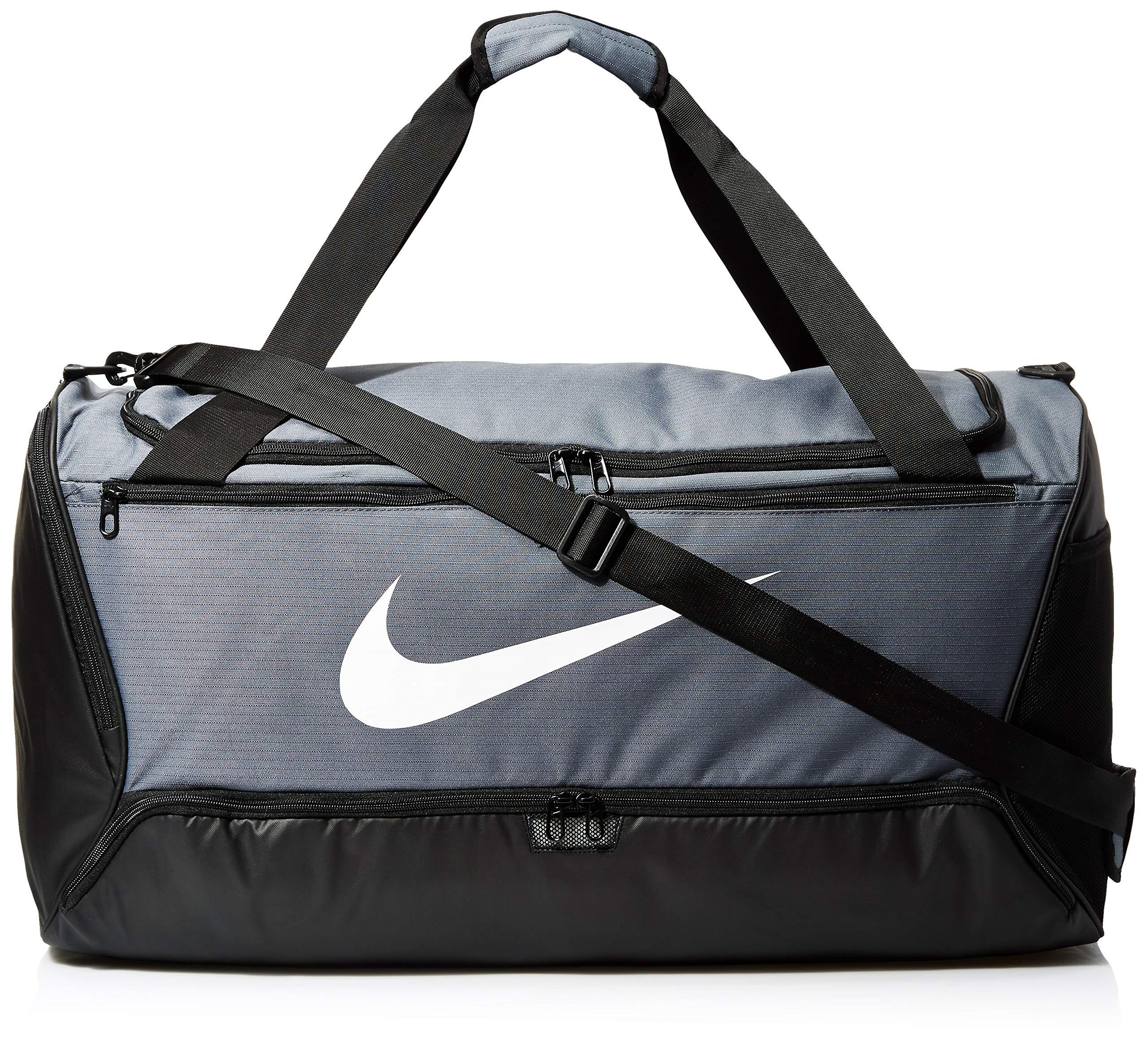 Nike Brasilia Large Duffel Flint