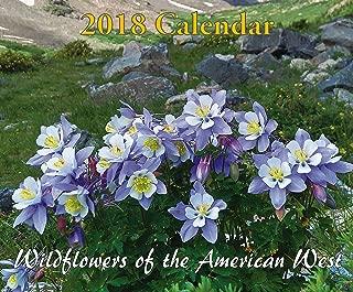 Wildflowers of the American West 2018 Calendar