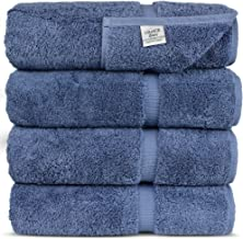 Luxury Hotel & Spa Towel 100% Genuine Turkish Cotton (Bath Towel - Set of 4, Wedgewood)