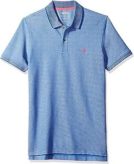 IZOD Men's CLEARANCE Slim Fit Advantage Performance Solid Polo Shirt