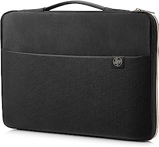 HP Sleeve (3XD37AA) Schutzhülle für Laptops, Tablets (17,3 Zoll) schwarz / gold