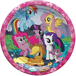 American Greetings My Little Pony Paper Dinner Plates for Kids (8-Count)