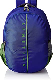 United Colors of Benetton 34 Ltrs Blue School Backpack (0IP6SCHBPVG6I)