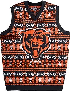 NFL Aztec Ugly Sweater Vest