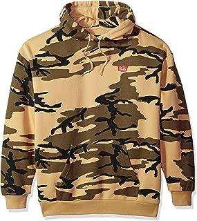 Brixton Men's Stith Relaxed Standard Fit Hood Fleece Sweatshirt