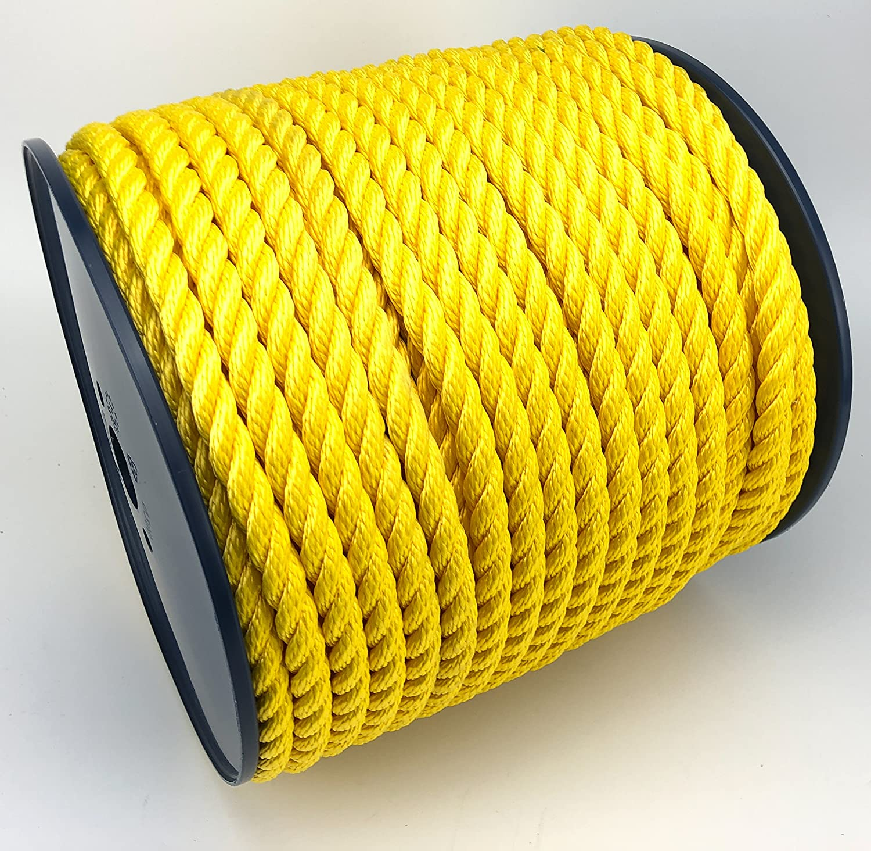 RopeServices UK Gelb 14 mm mm mm 3 Strand Multifil Softline Floating Seil X 100 M Spule B07F6DXLR2  Auktion 230edf
