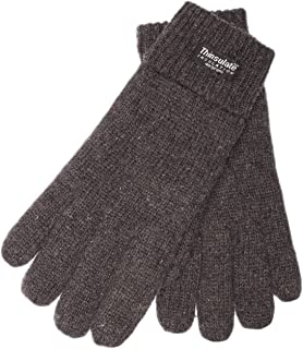 EEM Men`s Knitted Gloves LASSE with Thinsulate thermal lining, 100% wool, anthra XXL