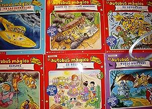El Autobus Magico ,(COLECCION DE SEIS LIBROS)1-VES LAS ESTRELLAS, 2-SIENTE UN INQUIETANTA HORMIGUEO, 3-ES DEVORADO, 4-EXPLOTA, 5-VUELO NOCTURNO, 6-SE RESECA. (PBS TV SHOW)
