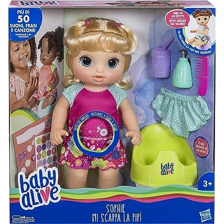 Hasbro Baby Alive Martina Spaghettina Bionda C0963103 Amazon It Giochi E Giocattoli