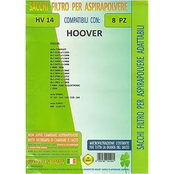 MFHV29 confezione 8 pezzi sacchetti ricambio HOOVER