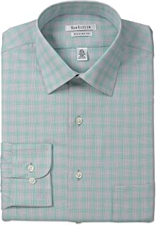 Van Heusen Men's Regular Fit Plaid