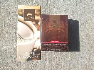 Javita Weight Loss Coffee (Burn + Control) 1 Box / 24 Servings, Diet Appetite Suppressant Instant Coffee