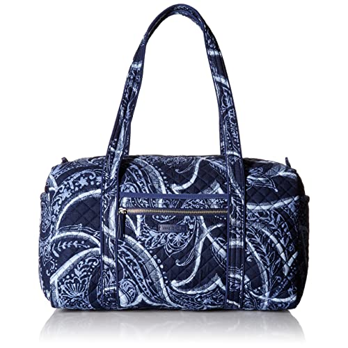 3901e5040 Vera Bradley Iconic Small Duffel, Signature Cotton