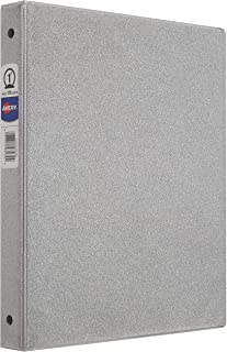 """Avery Glitter Binder with 1"""" Round Ring, 175-Sheet Capacity, Color Will Vary, 1 Binder (3239)"""