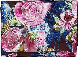 Jessica McClintock - Katie Velvet Floral Shoulder Bag Clutch