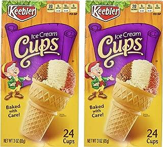 Keebler Ice Cream Cups - 24 ct - 2 Pack