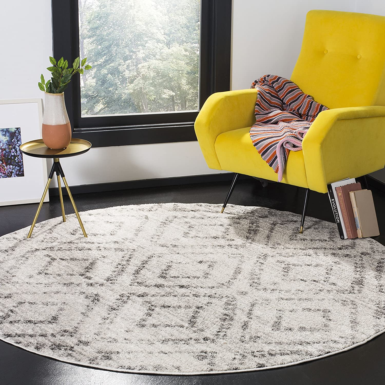 SAFAVIEH Adirondack Collection ADR131C Max 68% OFF OFFicial mail order Modern Distressed Diamond