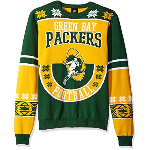 Green Bay Christmas Sweater Amazoncom