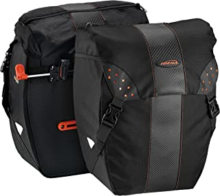 012de6543cd Ibera Bicycle Bag PakRak Clip-On Quick-Release All Weather Bike Panniers  (Pair