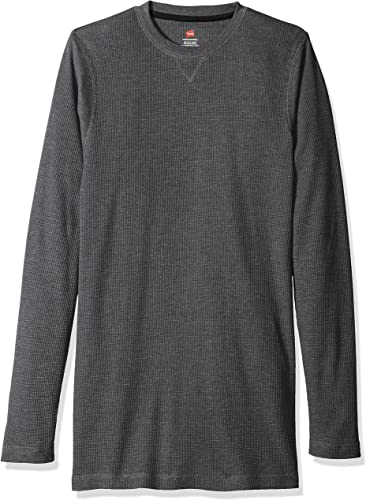 Hanes Hommes's Sueded Waffle Knit Top