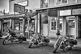 Harley Davidson Wall Art, Harley Davidson Gift For Men, Motorcycle Gift For Men, Man Cave Decor