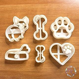 Dog Friend juego de cortador de galletas, molde de cortador de galletas, adecuado para galletas, pasta de azúcar, decoraci...