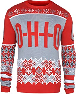 ohio state christmas sweater