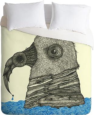 Deny Designs Duane Hosein One Night The Raven Duvet Cover, King