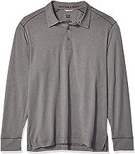 Cutter Men's Drytec UPF 50+ Jersey Matthew Long Sleeve Polo Shirt