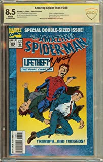 The Amazing Spider-man #388 with COA: Signed by artist Mark Bagley