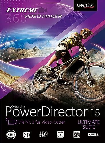 CyberLink PowerDirector 15 Ultimate Suite [Download]