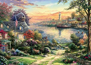 Ceaco TBD Thomas Kinkade New England Harbor Puzzle - 1000Piece
