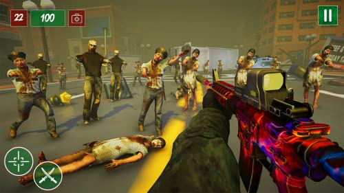 『Zombie Shooting Survival Battle 2018 : games free ate my friends store 2 block car cubes derby diary evil exodus empire fish tank farm usa vs for kids island io jail life land lane love night terror shift ops quiz road trip run royale squad Shooter』の5枚目の画像