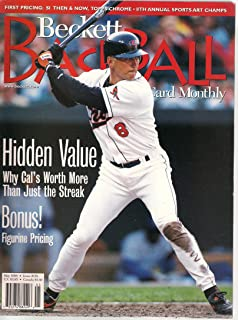 BECKETT Baseball Card Monthly May 1998, Issue #158 (Hidden Value Why Cal's Worth More than Just the Streak)