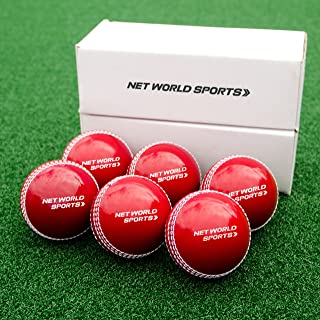 Fortress 'Incrediball' Cricket Practice Balls | Realistic Safety Cricket Ball for Training [Pack of 6]