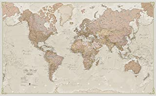 Best antique looking maps Reviews