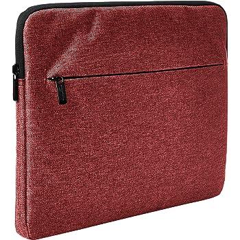 "AmazonBasics Laptop Sleeve with Front Pocket, 13"", Maroon"