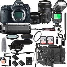 $1679 » Canon EOS 6D Mark II with 50mm f/1.8 STM Prime Lens + Tamron 70-300mm f/4-5.6 Di LD Macro Lens + 128GB Memory + Pro Battery Bundle + Power Grip + TTL Speed Light + Pro Filters,(24pc Bundle)