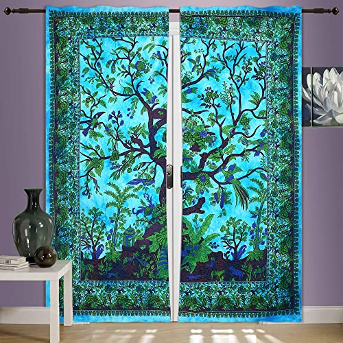 Tapestry Curtains Amazon Co Uk