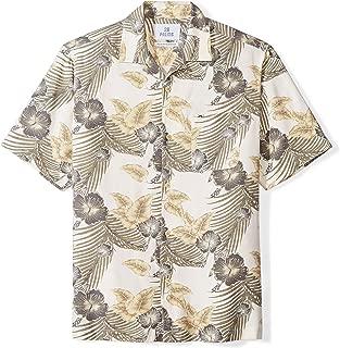 28 Palms Men's Relaxed-Fit 100% Silk Tropical Hawaiian
